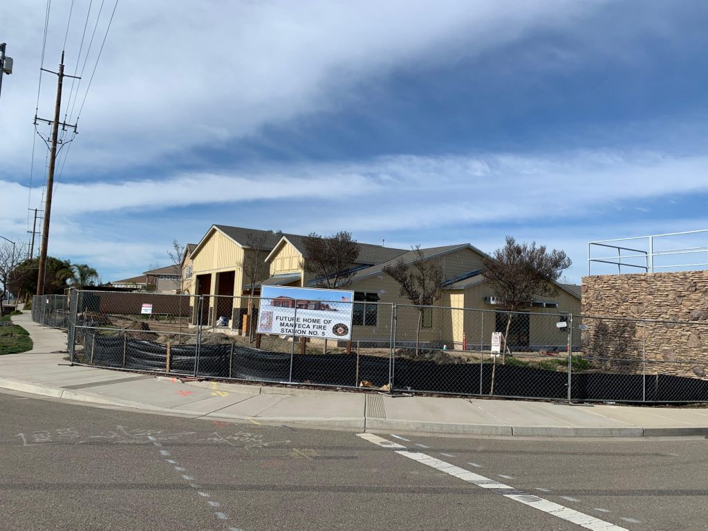 Manteca Fire Station Construction by Bickford Construction